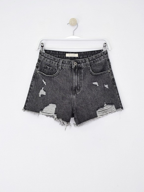 Short rotos grey