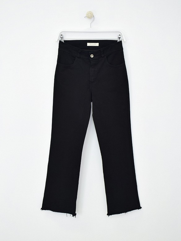 Jeans flare black
