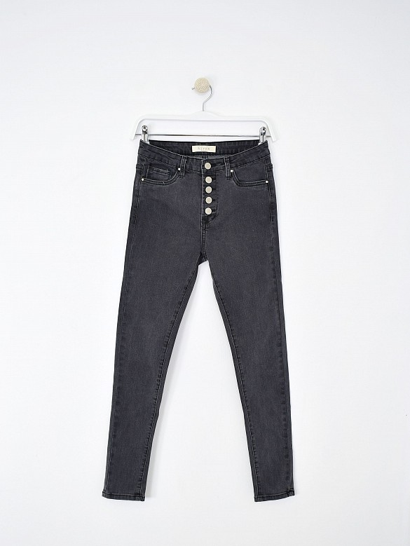 Jeans skinny fit botones