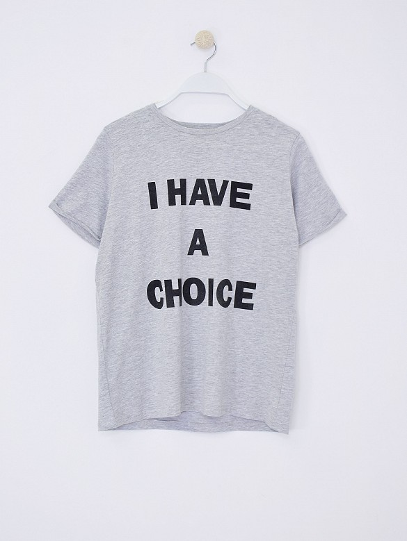 Camiseta i have a choice