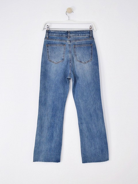 Jeans flare blue