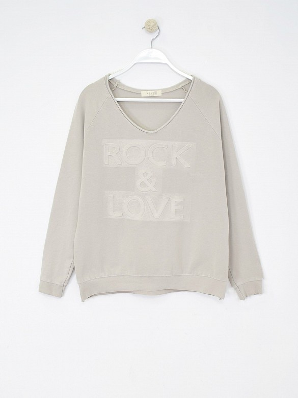 Sudadera ROCK & LOVE