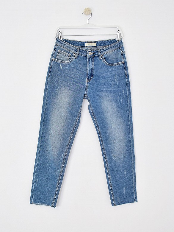 Jeans mom fit rotos