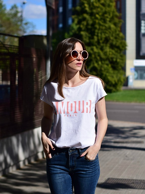 Camiseta amour red