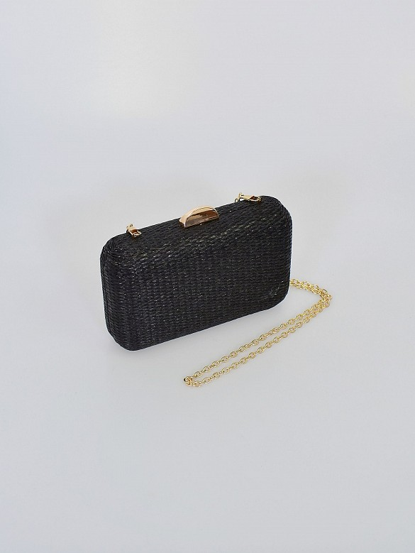 Bolso clutch black